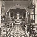 AVESNELLES-L'église intérieure
