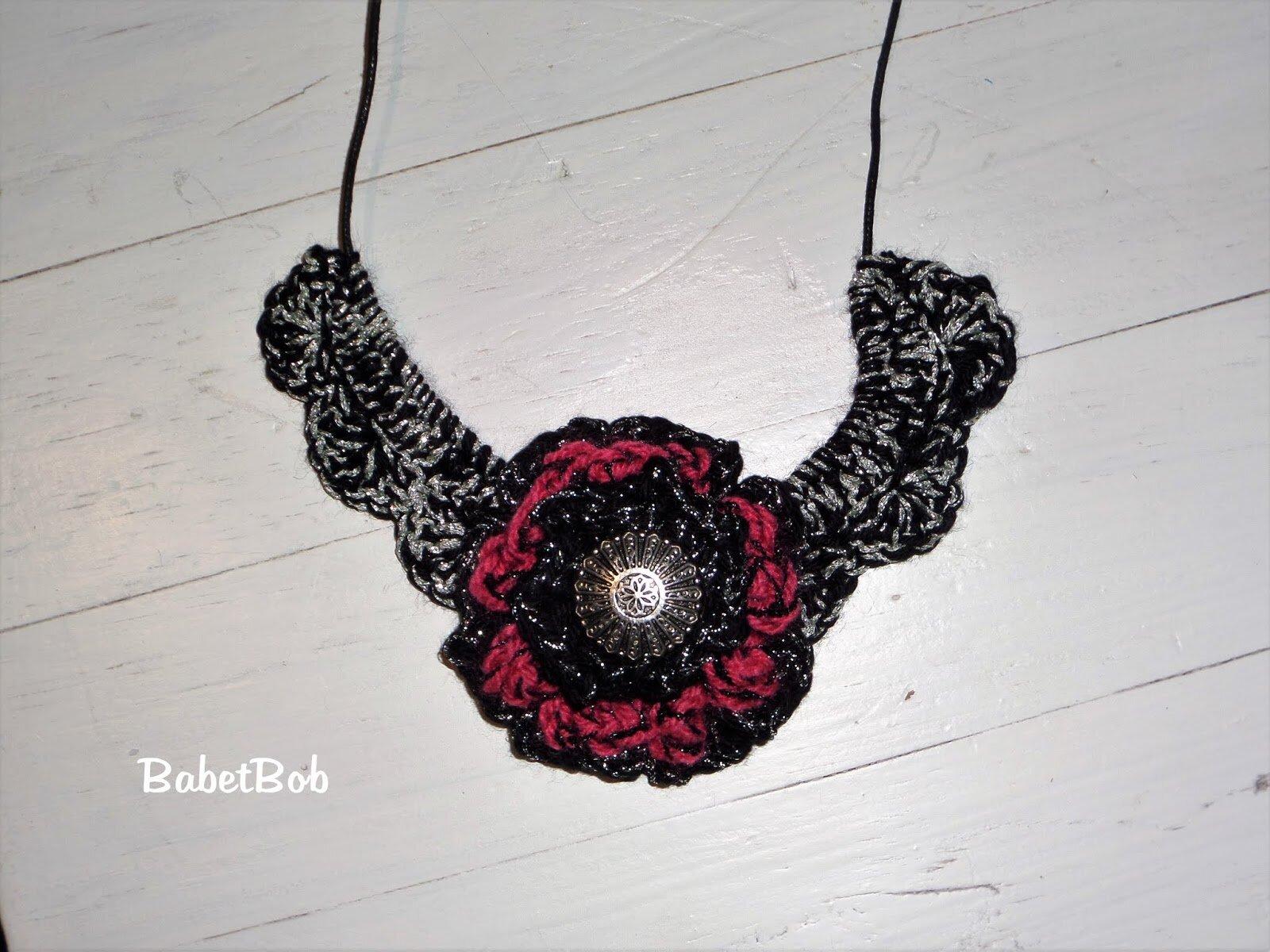 collier crochet 3