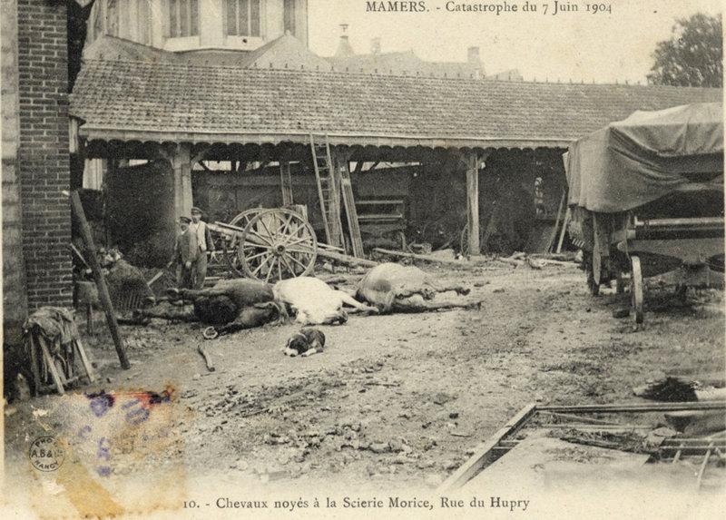 Catastrophe Mamers 1904 05