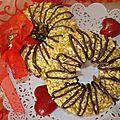 sablés bracelets arachide -caramel ( sans œufs)