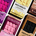 Série des chocolate palettes de i heart make up (makeup revolution): cranberries and chocolate