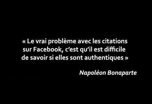 facebook citation napoleon bonaparte