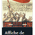 AFFICHE 1ER MAI 1936