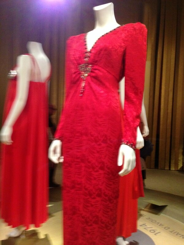 Dalida robe rouge