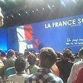 Meeting de François Bayrou au Zénith de Paris