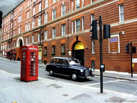 Cabine téléphonique - Taxi - Londres - Angleterre