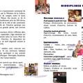 Dépliant de présentation du conservatoire, 2009-2010