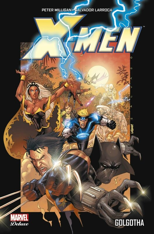 marvel deluxe x-men golgotha