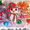 The serial crocheteuses n°253 : on decore sa table de noël