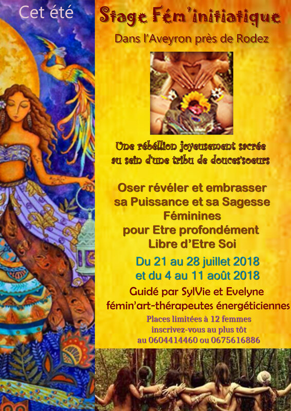 AFFICHE STAGES ETE 2018