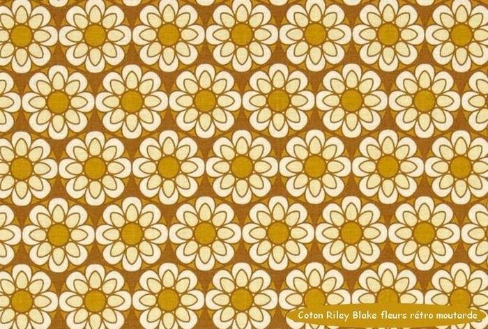 07_coton_Riley_Blake_fleurs_moutarde_retro