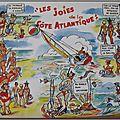 Vacances - Joies de la cote atlantique - datée 1969
