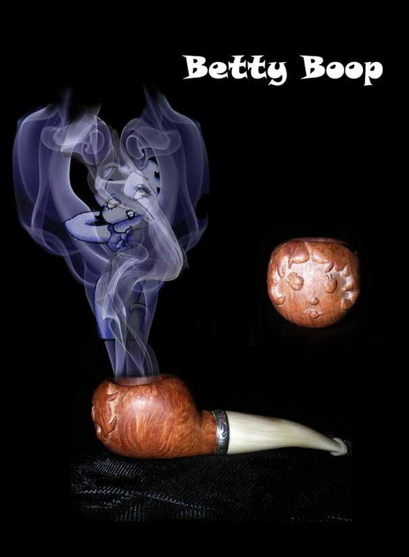 Pipe-Betty-Boop