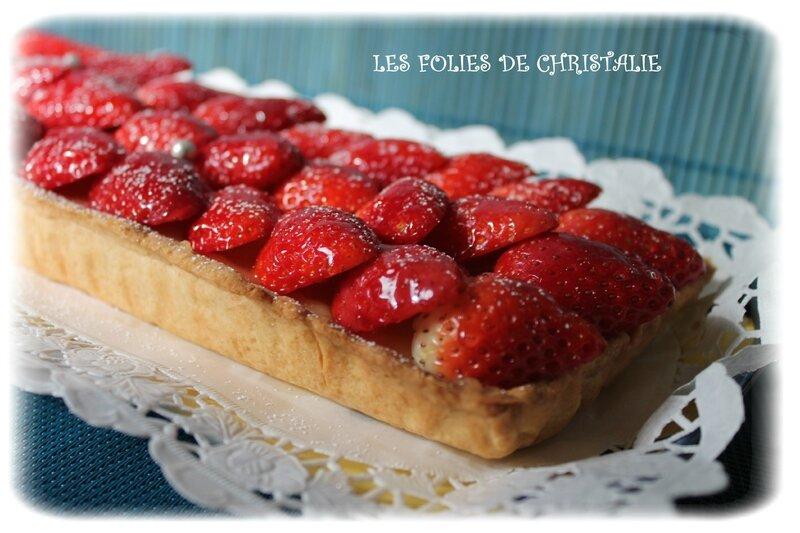 Tarte aux fraises 8