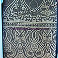 Didymos ornament anthracite tussah