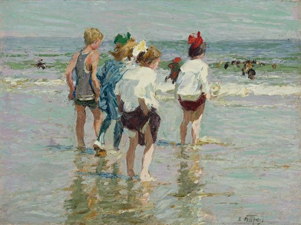 Edward_Henry_Potthast___Summer_day__Brighton_Beach_001