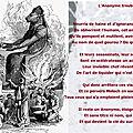 Autour de v.i.t.r.i.o.l, sonnet: l'anonyme trouble-fête