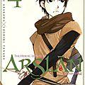 Hiromu arakawa - yoshiki tanaka : the heroic legend of arslan t4