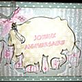 La carte d'anniversaire pour sylvie