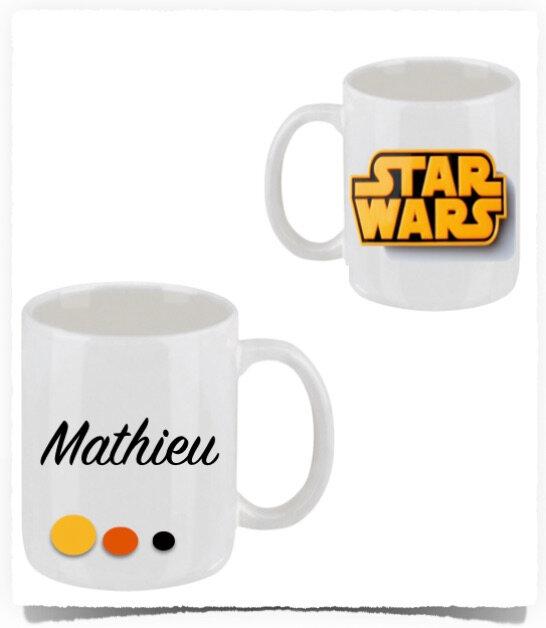 Mug personnalisé STAR WARS