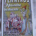 Terminus absinthe - Sarah Bernhard et l'acteur Coquelin