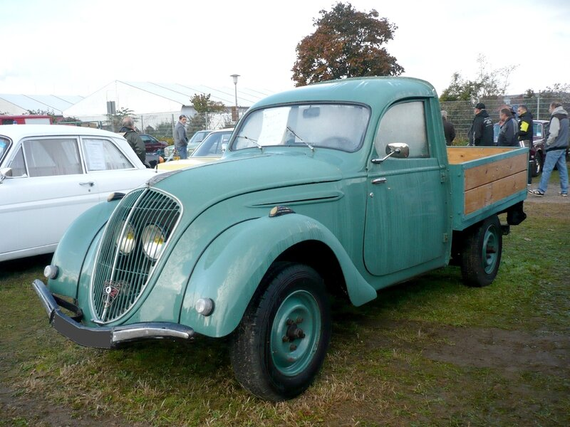 PEUGEOT 202 UH pick-up 1948 Mannheim (1)