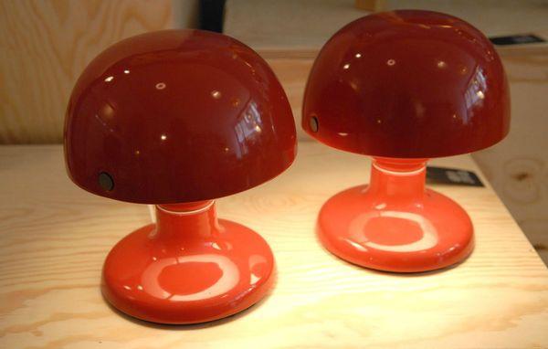 paire de lampes de chez flos 1950