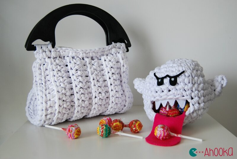 Hooked Zpagetti bag and boo