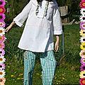 2012 - mars. Capella de GdeC et pantalon M&T taille 10 ans