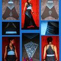 Robe sarouel tuquoise