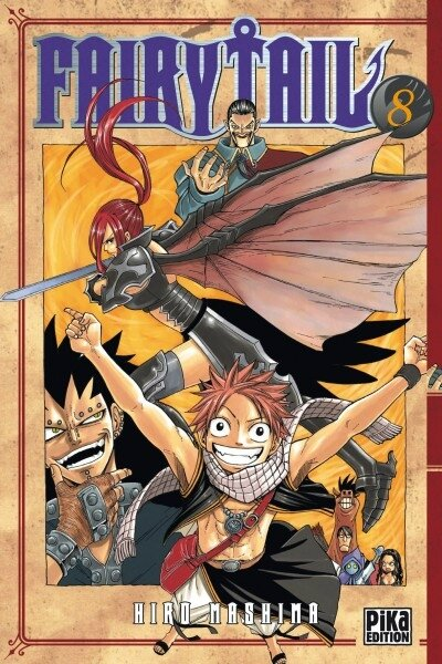 Fairy Tail, tome 8