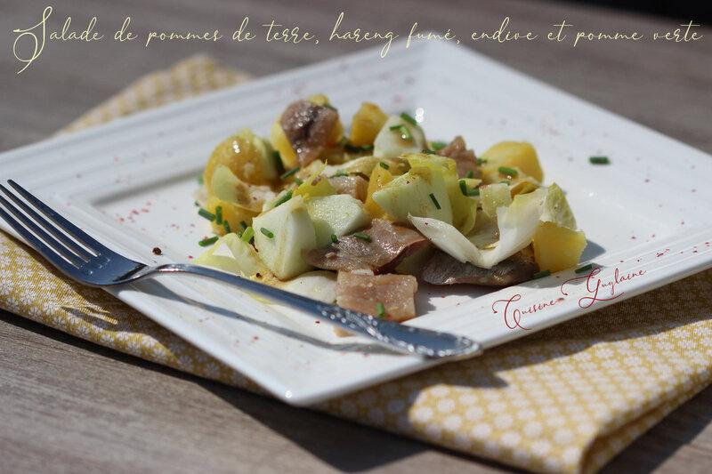 salade pommes de terre harengs 2