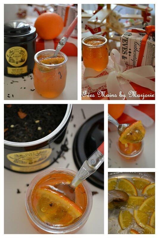 Gelée d'oranges au thé de Noël1