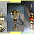 Restauration de lampes a petrole