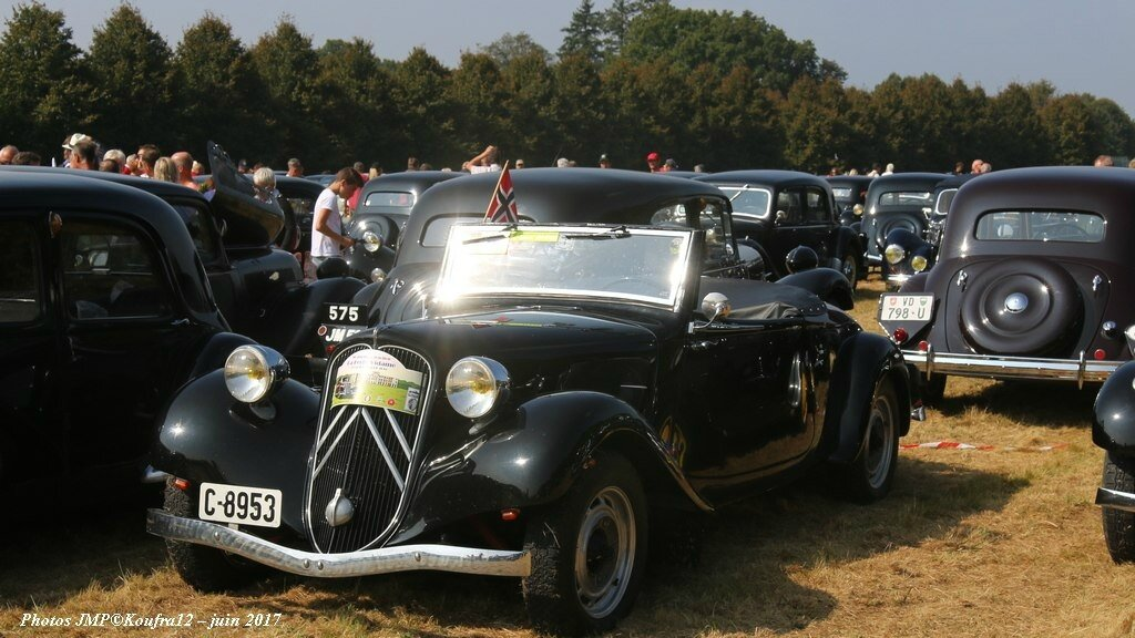 Photos JMP © Koufra12 - Traction avant 80 ans - 00180