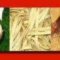 Fettucini aux cepes ingrédients pour 4 pers 450