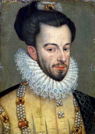 Henri III vers 1576, Kunsthistorisches museum