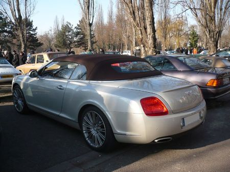 BENTLEY Continental GTC cabriolet 4 places Strasbourg - PMC (2)