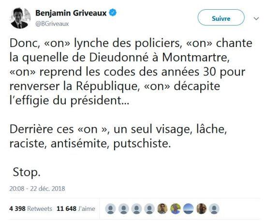Griveaux-nazis