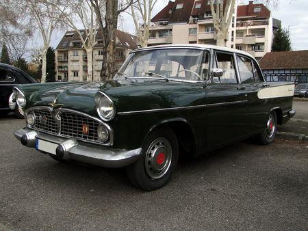 SIMCA Vedette Beaulieu 1958 Retrorencard 1