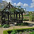 Le jardin du prieuré de locmaria