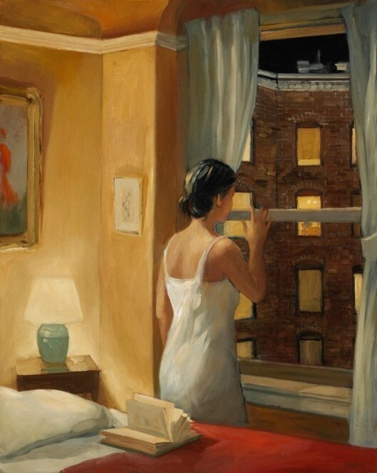 sally storch - alla-finestra