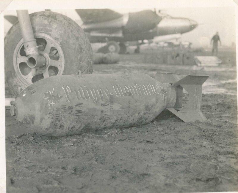 edmond garcia Bombe dédicacée Puligny-Montrachet(B26 Marauder)