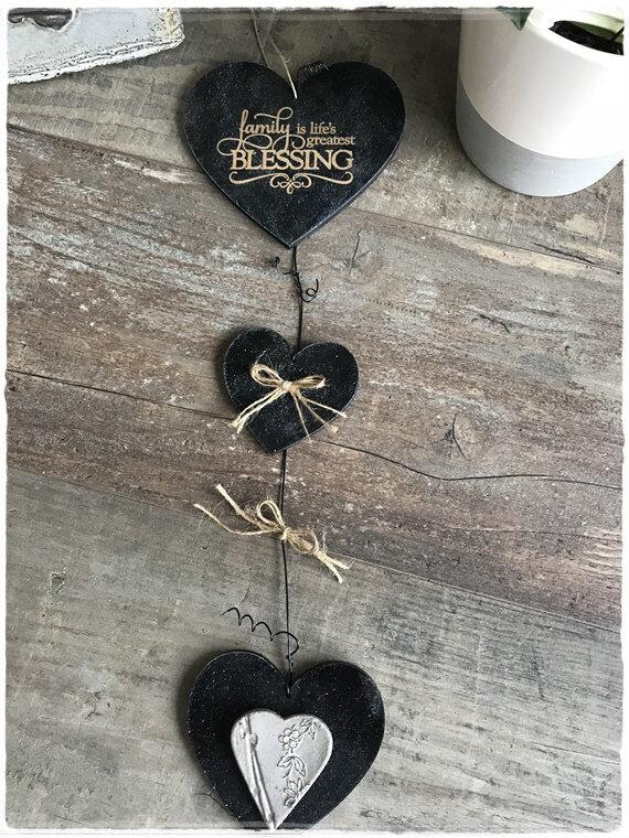 guirlande coeur noir a1