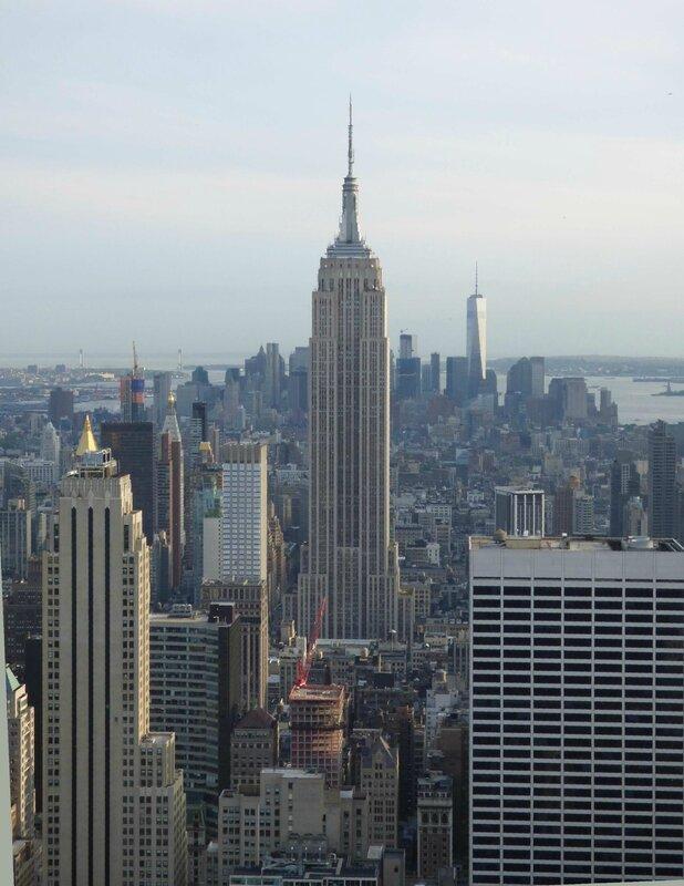 voyez comme l'Empire State Buiding est majestueux