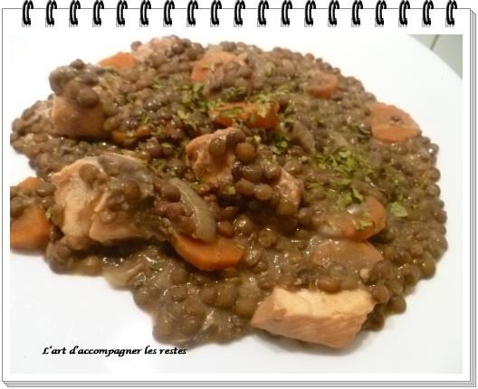 Lentilles au saumon Ww 2