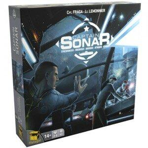 Boutique jeux de société - Pontivy - morbihan - ludis factory - Captain sonar