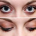 Des yeux au chocolat