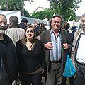 Avec Elise Lowy, Gweltaz Ar Fur et R.Dantec sénateur