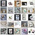 Galerie des créations du mois d'octobre